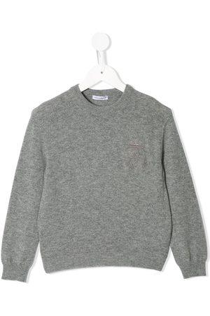 Dolce & Gabbana Sweatshirt mit Logo-Stickerei