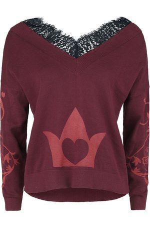 Alice im Wunderland Damen Sweatshirts - Off With Their Head Sweatshirt bordeaux
