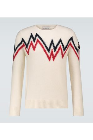 Moncler Pullover mit Wollanteil