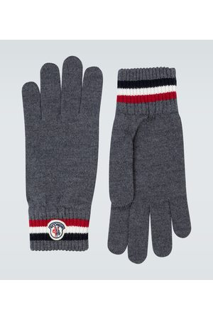 Moncler Handschuhe aus Wolle
