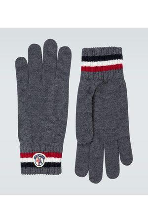 Moncler Handschuhe aus Wolle