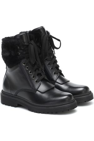 Moncler Ankle Boots Patty aus Leder