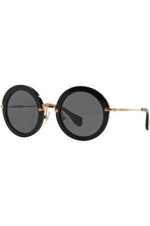 Miu Miu Sonnenbrillen - Sonnenbrille Mu 13ns schwarz