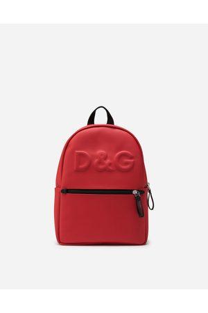 Dolce & Gabbana Rucksack aus neopren mit logo-hei?prÄgung