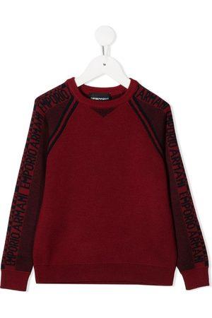 Emporio Armani Long-sleeved logo jumper