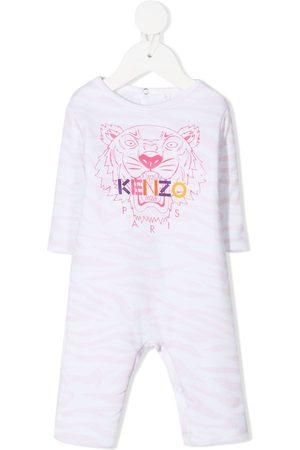 Kenzo Kids Baby Jumpsuits - Strampelanzug mit Tiger-Print