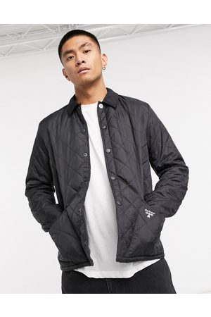 Barbour Beacon – Starling – Schwarze Steppjacke