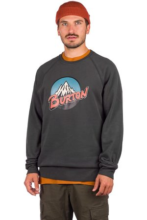 Burton Herren Sweatshirts - Retro Mountain Crew Sweater