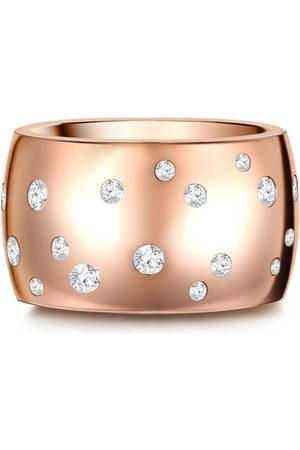 Stella Ring Edelstahl verziert mit Kristallen von Swarovski®, rosé
