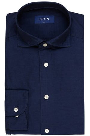 Eton Hemd Slim Fit blau