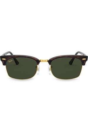 Ray-Ban Eckige 'Clubmaster' Sonnenbrille