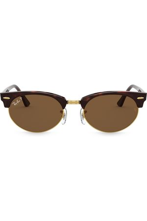 Ray-Ban Ovale 'Clubmaster' Sonnenbrille