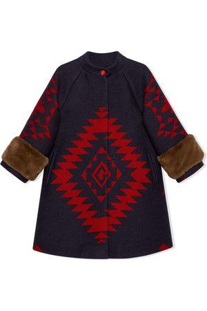 Gucci Jungen Mäntel - Mantel mit geometrischem Muster