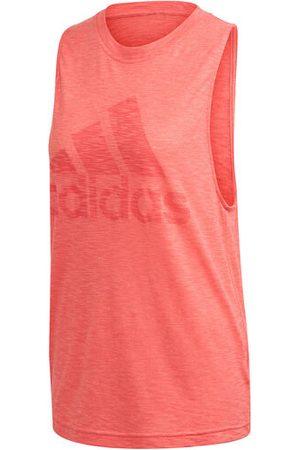 """adidas Tanktop """"Winners"""", meliert, Rundhalsausschnitt, für Damen, aprikot, XL"""