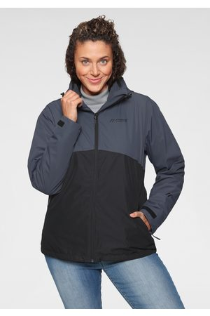 Maier Sports 3-in-1-Funktionsjacke, anthrazit, Gr.44