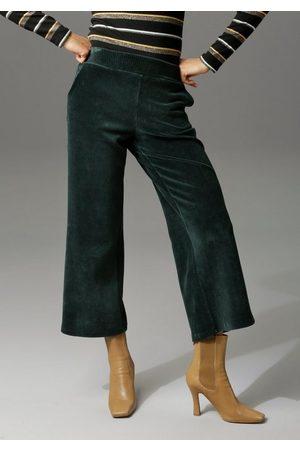 Aniston Cordhose in trendiger Culotte-Form