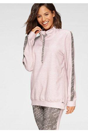 CYBELE Damen Sweatshirts - Sweatshirt mit coolem Schlauchkragen und Tunnelzugbund