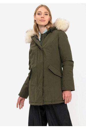 Canadian Classics Damen Winterjacken - Parka »Fundy Bay« Winterjacke mit Premium Kunstfellbesatz