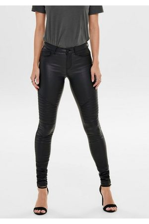 Only Lederimitathose »ONLNEW ROYAL« im trendy Biker-Look