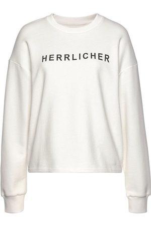 Herrlicher Sweatshirt »OTINA« mit Statement-Druck