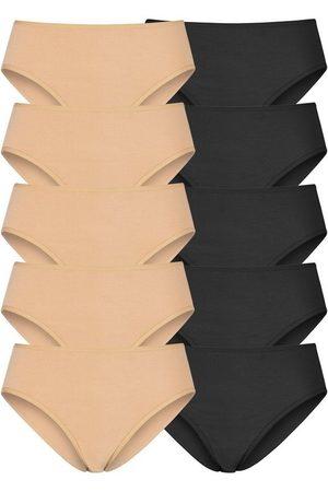 Go in Jazz-Pants Slips (10 Stück) in frischen Uni-Farben