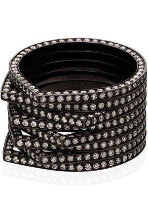 Repossi Damen Ringe - 18kt 'Antifer' Schwarzgoldring