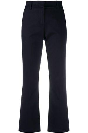 DEPARTMENT 5 Damen Capris - Cropped-Hose mit ausgestelltem Bein
