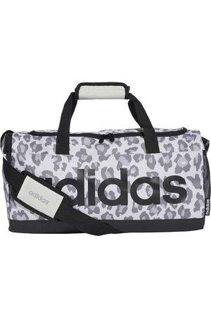 """adidas Duffelbag """"Linear Leopard S"""", verstellbar, Reißverschlusstasche, geräumig, für Damen, hellgrau/ , OneSize"""