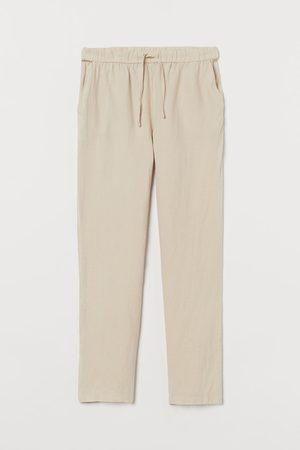 H&M Pyjamahose aus Leinen