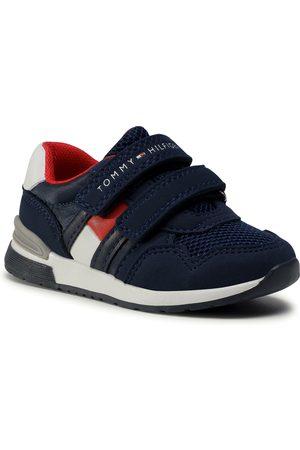 Tommy Hilfiger Low Cut Velcro Sneaker T1B4-30481-0732 M Blue 800