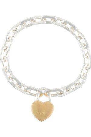 AMBUSH Armbänder - Kettenarmband mit Schloss in Herzform