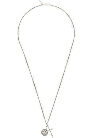 EMANUELE BICOCCHI Halsketten - Halskette mit Totenkopf-Anhänger