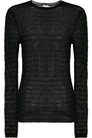 Peter Wu Fein gestrickter Pullover
