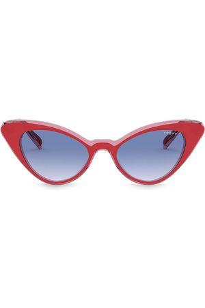 vogue Cat-Eye-Sonnenbrille mit Farbverlauf