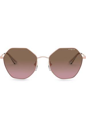 vogue Sonnenbrille mit sechseckigem Gestell