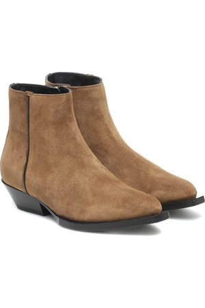 Jimmy Choo Ankle Boots Jun aus Veloursleder