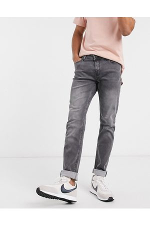 Only & Sons – Schmal geschnittene Stretch-Jeans in