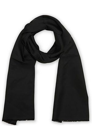 Amanda Christensen Ceremony Self Fringes Scarf Black