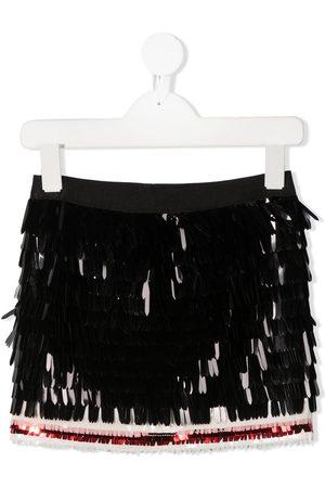 Dsquared2 Mädchen Röcke - Minirock mit Pailletten