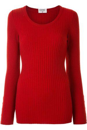 CHANEL Damen Pullover - Pullover mit rundem Ausschnitt