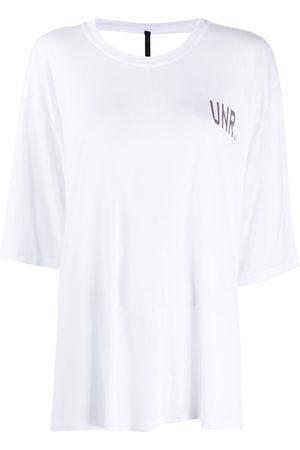 Unravel Project T-Shirt mit offenem Rücken