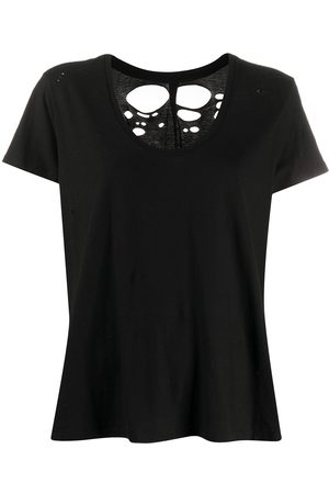 Unravel Project T-Shirt im Distressed-Look