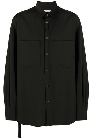 VALENTINO Chest pocket long-sleeve shirt