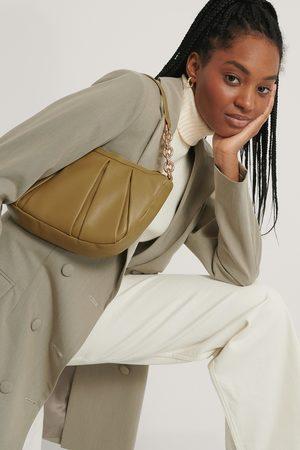 MANGO Damen Handtaschen - Tasche - Green
