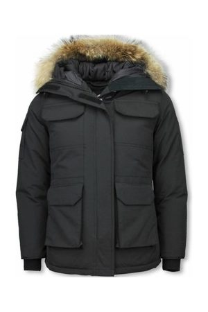 Matogla Parkas Jacken Mit Fellkragen Winterjacken Da Lange Expedition Parka