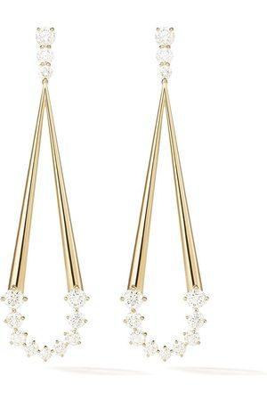 Melissa Kaye 18kt Gelbgoldohrringe mit Diamanten