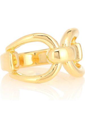 Sophie Buhai Vergoldeter Ring Horsebit aus Sterlingsilber