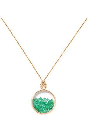 Aurélie Bidermann Anhänger Baby Chivor Diamanten