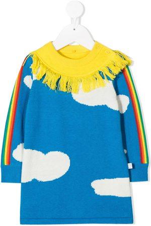 Stella McCartney Kids Kleid mit Wolken-Print