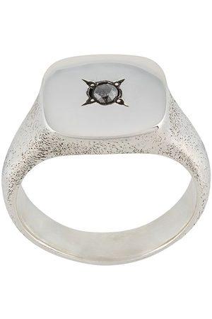 HENSON Ring mit eckigem Siegel